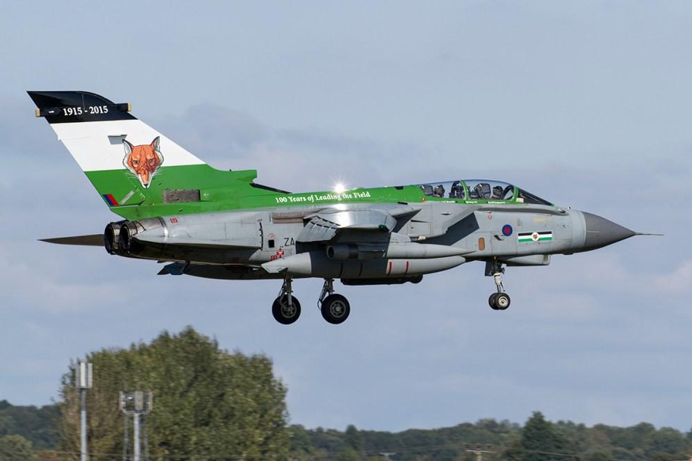 Panavia Tornado GR.4 ZA405