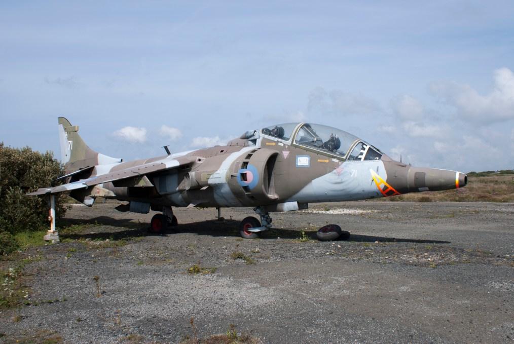 ©Chris Globe - Harrier T.4A XW271