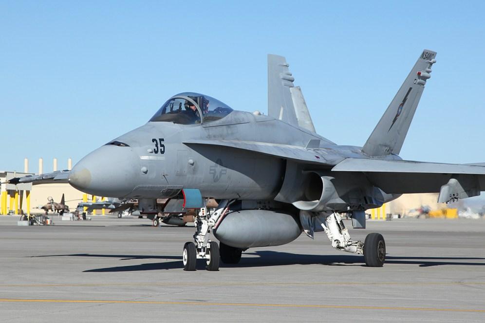 © Mark Forest - McDonnell Douglas F/A-18C - NSWAC - NAS Fallon
