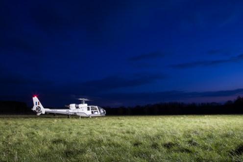 © Adam Duffield - Westland Gazelle HT.3 XZ934 G-CBSI - Bourne Park Nightshoot 2
