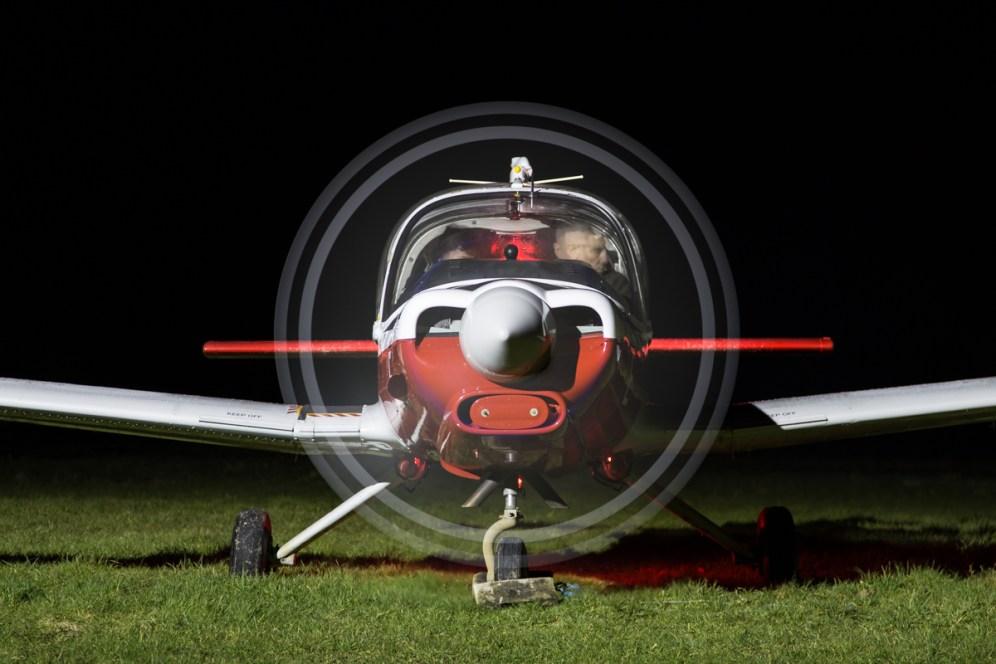 © Adam Duffield - Scottish Aviation Bulldog XX624 G-KDOG - Bourne Park Nightshoot 2