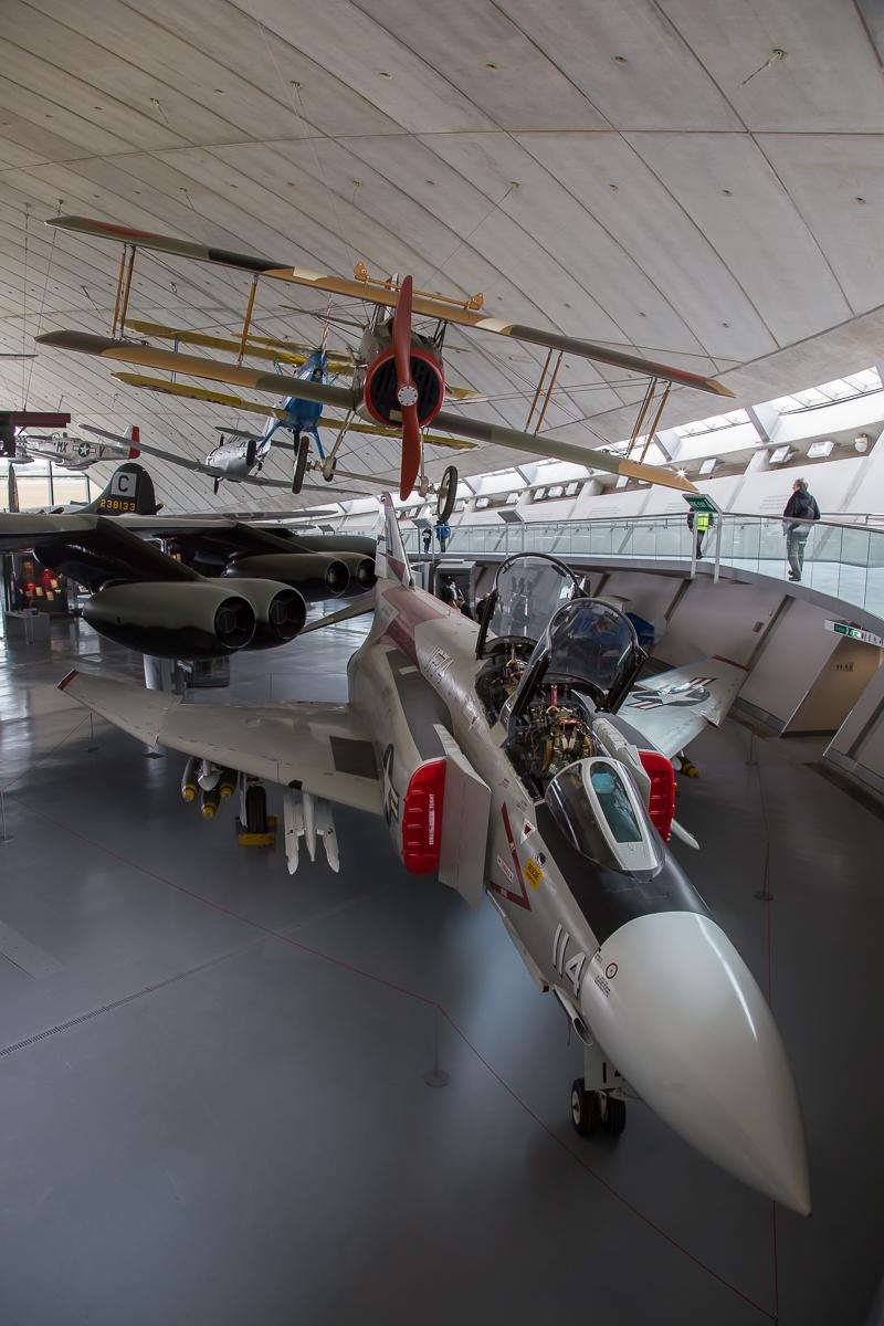 © Adam Duffield - McDonnell Douglas F-4J Phantom 155529 - American Air Museum Reopening