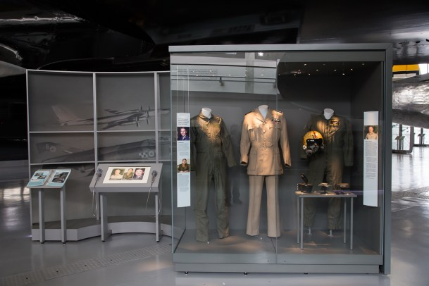 © Adam Duffield - Example of the new museum displays - American Air Museum Reopening