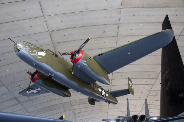 © Adam Duffield - North American B-25J Mitchell 44-31171 - American Air Museum Reopening
