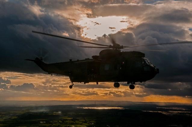 © Duncan Monk - Royal Navy Sea King HC4