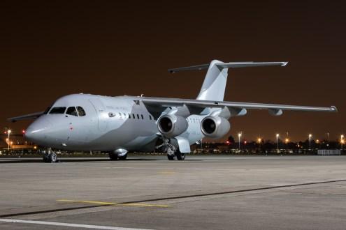 © Adam Duffield - RAF BAe 146 C.3 ZE707 - Northolt Nightshoot XX