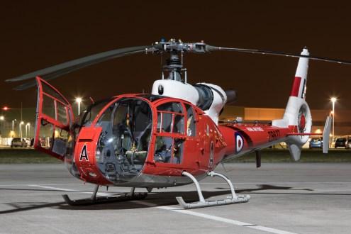© Adam Duffield - Gazelle Squadron HT.3 G-CBSK / ZB627 - Northolt Nightshoot XX
