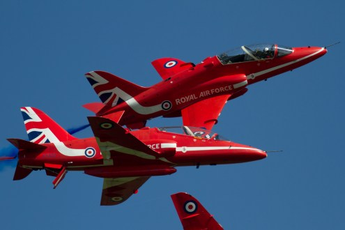 © Michael Lovering - RAF Red Arrows - Shuttleworth Season Premiere Airshow 2016