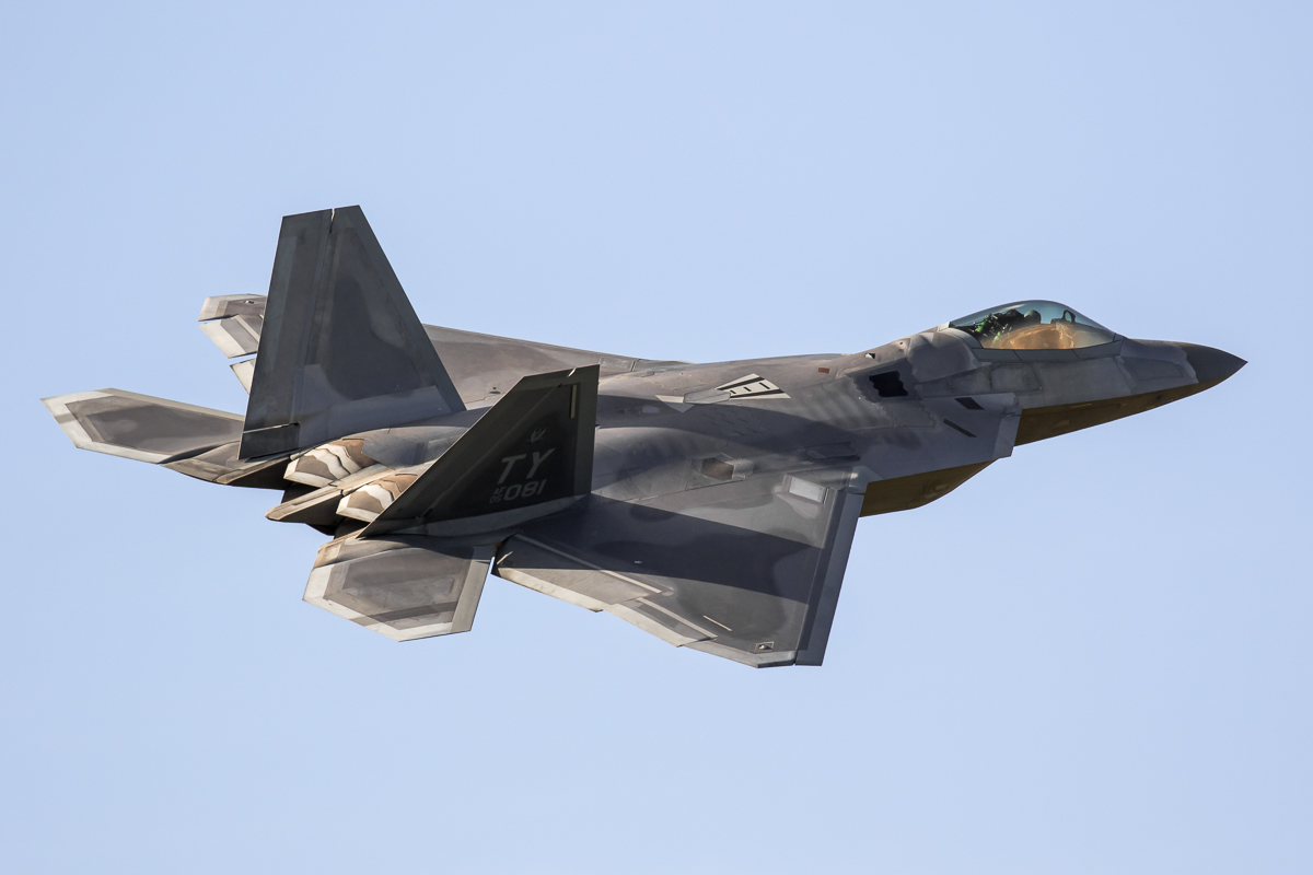 © Adam Duffield - Lockheed F-22A Raptor 05-4081 - F-22 Raptor Deployment to RAF Lakenheath