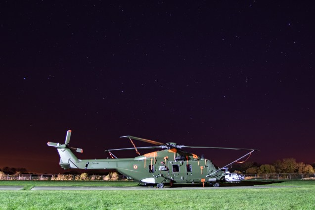 © Adam Duffield - Belgian Air Force NH-90 TTH RN-08 - Abingdon Nightshoot 2016