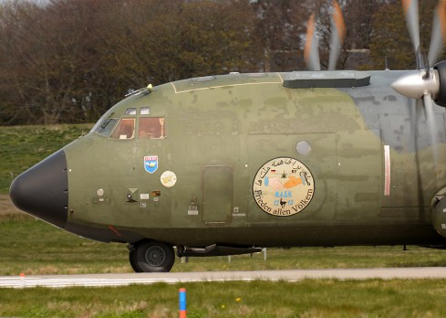 © Niall Paterson - Luftwaffe C-160D Transall - Joint Warrior 16-1