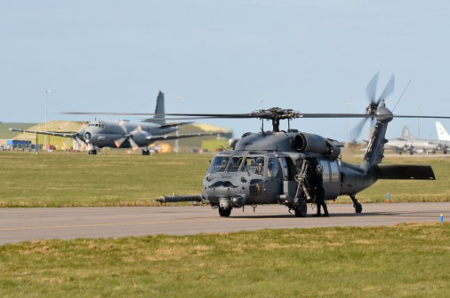 © Niall Paterson - USAF HH-60G Pavehawks - Joint Warrior 16-1