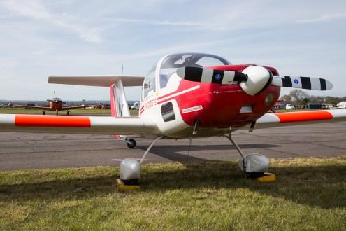 © Adam Duffield - Grob Vigilant ZH266 - Abingdon Air and Country Show 2016