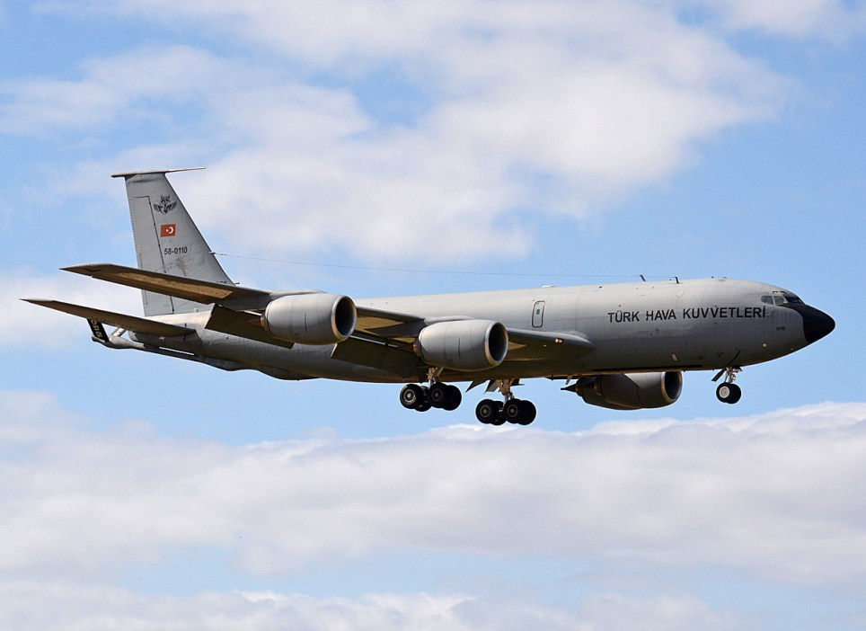 © Niall Paterson - TuAF KC-135R 58-0110 - Joint Warrior 16-1