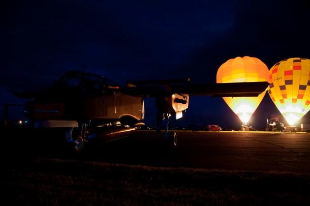 © Duncan Monk - The Oxford Balloon Company - Abingdon Nightshoot 2016