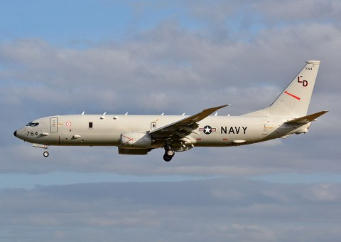 © Niall Paterson - USN Boeing P-8A Poseidon - Joint Warrior 16-1