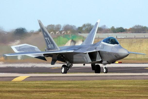 © Mark Kwiatkowski - Lockheed F-22A Raptor 05-4095 - F-22 Raptor Deployment to RAF Lakenheath