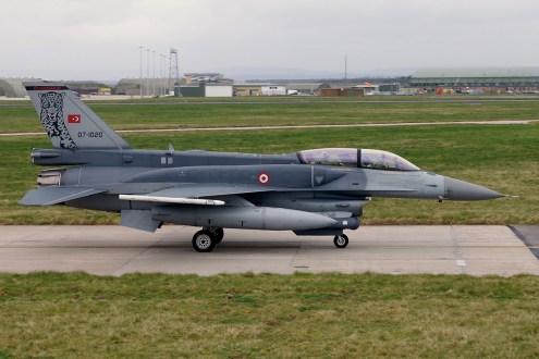 © Jamie Ewan - TuAF Lockheed Martin F-16D 07-1020 - Joint Warrior 16-1