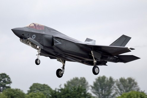 © Michael Lovering - RAF F-35B ZM137 - First F-35 Lightning IIs arrive in United Kingdom