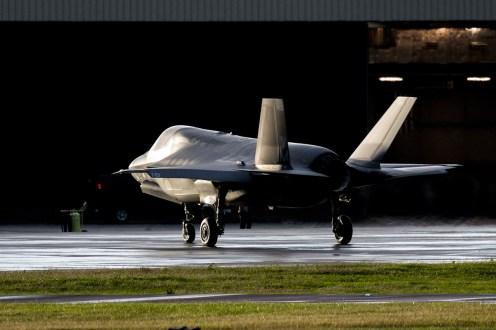 © Michael Lovering - USMC F-35B 168726 - First F-35 Lightning IIs arrive in United Kingdom