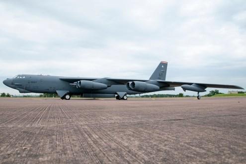 © Duncan Monk - B-52H 60-0037 Full - Ex BALTOPS / Saber Strike 2016