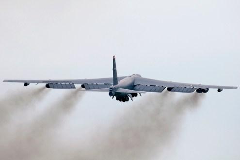 © Duncan Monk - B-52H 60-0044 Takeoff - Ex BALTOPS / Saber Strike 2016