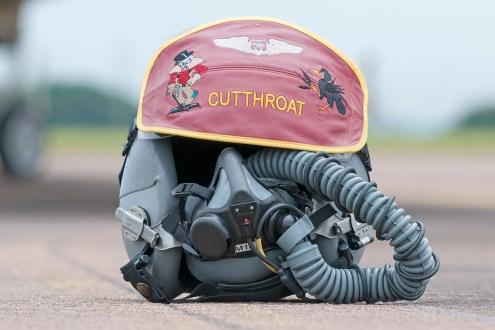 © Duncan Monk - B-52H Helmet Cutthroat - Ex BALTOPS / Saber Strike 2016