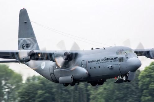 © Ben Montgomery - RNlAF C-130H G-988 - Luchtmachtdagen 2016