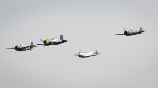 © Adam Duffield - Pacific Fighter Formation - Duxford American Air Show 2016