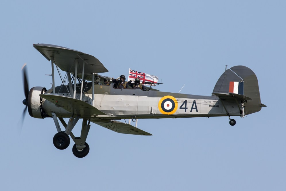 © Adam Duffield - RNHF Fairey Swordfish Mk I W5856 - Shuttleworth Fly Navy Air Show 2016