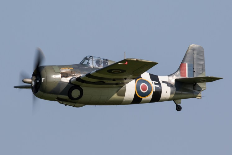 © Adam Duffield - Grumman Wildcat FM2 JV579/G-RUMW - Shuttleworth Fly Navy Air Show 2016