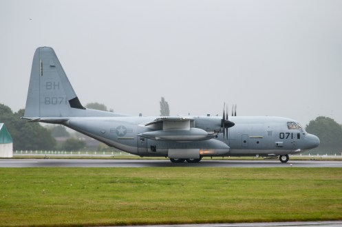 © Duncan Monk - KC-130J 168071 - First F-35 Lightning IIs arrive in United Kingdom