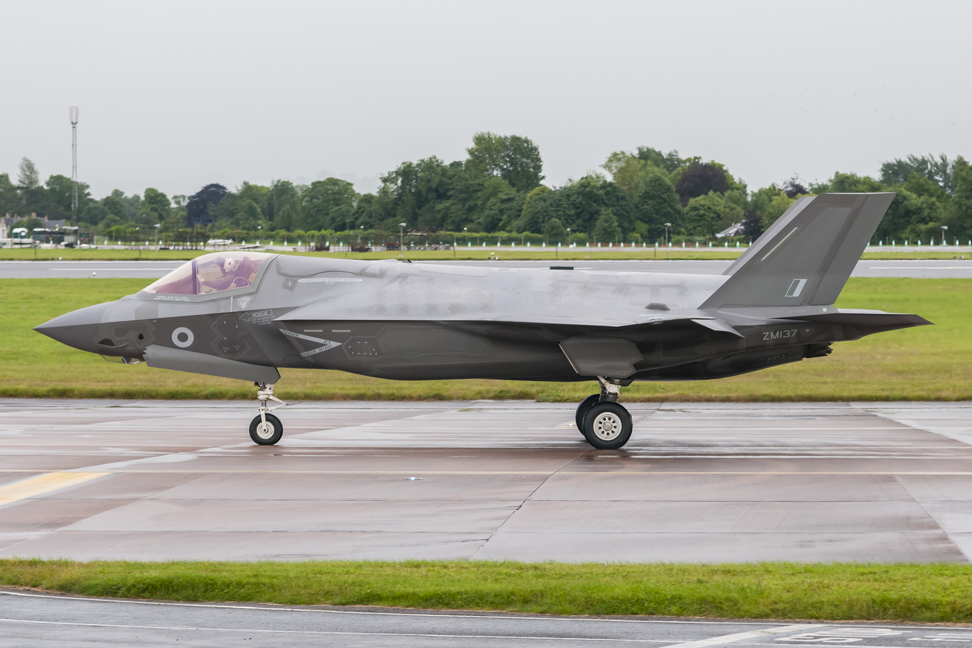 © Duncan Monk - RAF F-35B ZM137 - First F-35 Lightning IIs arrive in United Kingdom