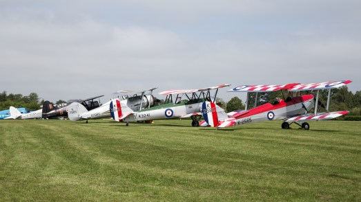 © Adam Duffield - The morning flight line - Shuttleworth Fly Navy Air Show 2016