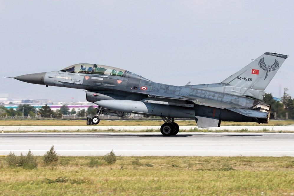 © Mark Kwiatkowski - TuAF F-16D 94-1558 - Anatolian Eagle 2016