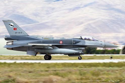 © Mark Kwiatkowski - TuAF F-16C 07-1014 - Anatolian Eagle 2016