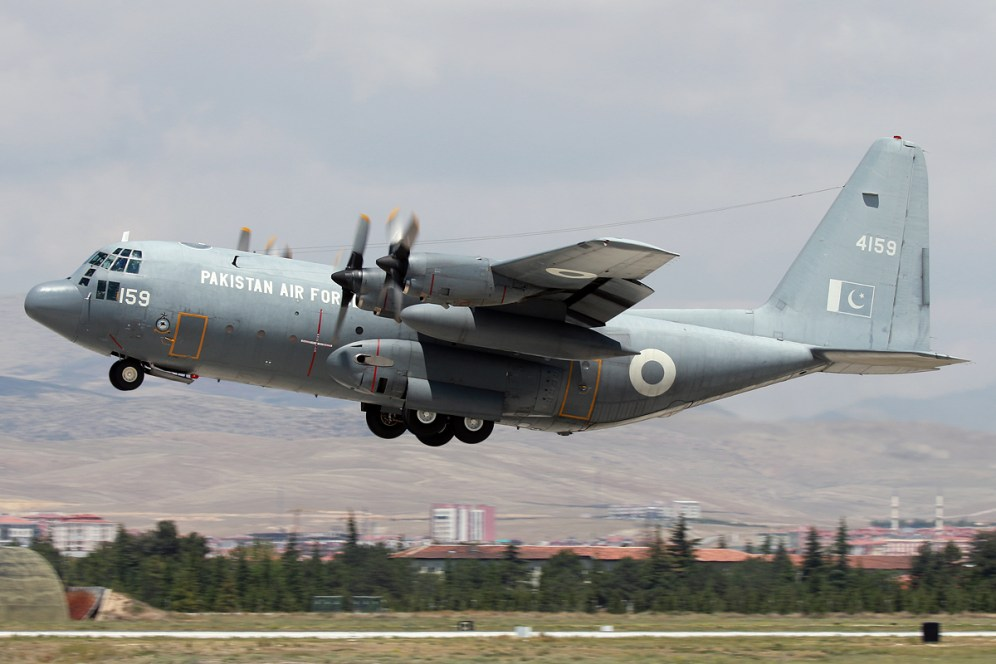© Mark Kwiatkowski - PAF C-130E 4159 - Anatolian Eagle 2016