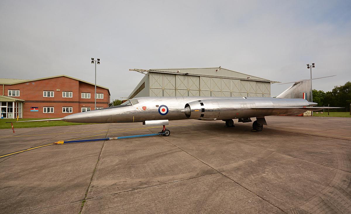 © Niall Paterson - Bristol 188 XF926 - RAF Cosford Air Show 2016