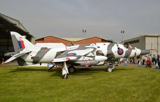 © Niall Paterson - Harrier GR.3 XZ991 - RAF Cosford Air Show 2016