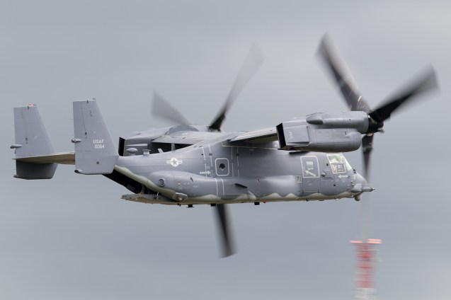 © Michael Lovering - USAF CV-22B Osprey - Royal International Air Tattoo 2016