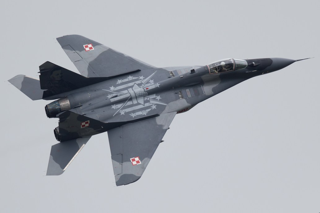 © Michael Lovering - Polish Air Force MiG-29A - Royal International Air Tattoo 2016