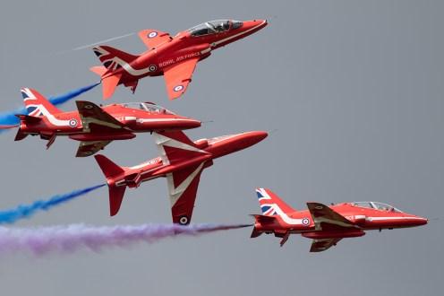 © Michael Lovering - RAFAT Red Arrows - Royal International Air Tattoo 2016