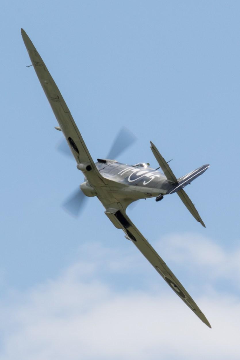 © Adam Duffield - Supermarine Seafire LF III PP972 (G-BUAR) - RNAS Yeovilton Air Day 2016