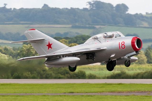 © Duncan Monk - MiG-15UTI - RNAS Yeovilton Air Day 2016