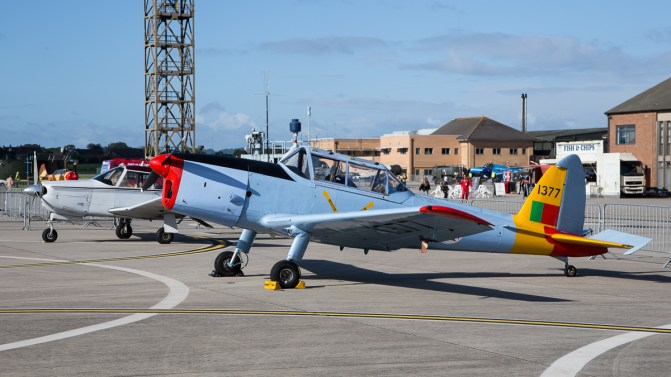 © Adam Duffield - DHC-1 Chipmunk 1377 / G-BARS - RNAS Yeovilton Air Day 2016