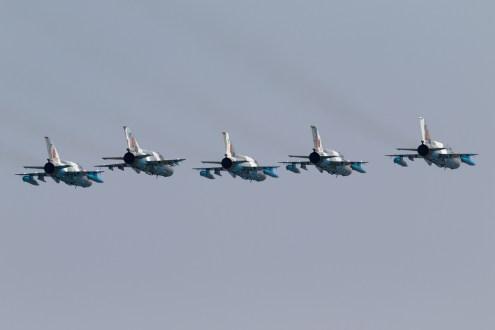 © Michael Lovering - MiG-21 LanceR C Formation, Romanian Air Force - Bucharest International Air Show 2016