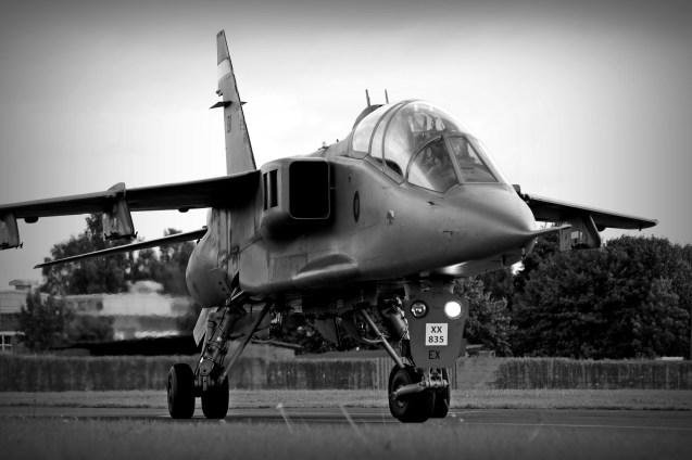 © Jamie Ewan - SEPECAT Jaguar T4 XX835/EX - RAF Cosford Jaguars final prowl