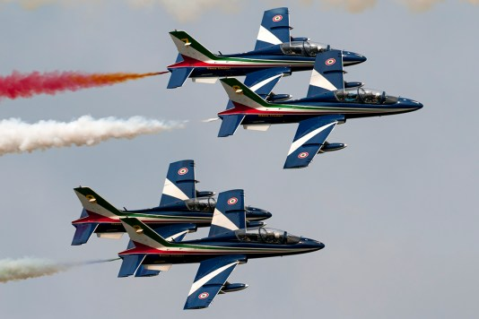 © Duncan Monk - Italian Air Force Aerobatic Team Frecce Tricolori MB-339 - Ostrava NATO Days 2016