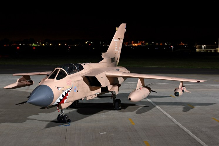© Jamie Ewan - Royal Air Force Panavia Tornado GR4 ZG750 'Pinky' - Northolt Nightshoot XXI