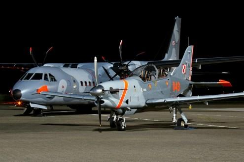© Jamie Ewan - Sily Powietrzne PZL-130TC-II Turbo Orlik 049 - 42 Baza Lotnictwa Szkolnego & CASA C-295 020 - Northolt Nightshoot XXI